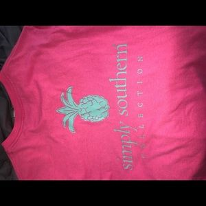 Simply Southern Hot Pink T-Shirt
